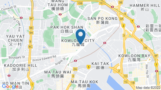 Regal Oriental Hotel - Hong Kong Map