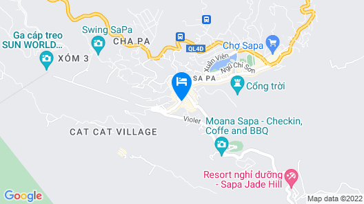Phuong Nam Mountain View Hotel Map