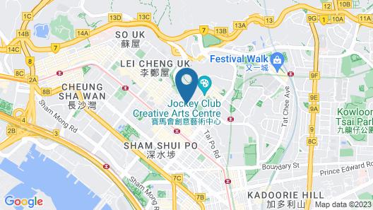 YHA Mei Ho House Youth Hostel Map