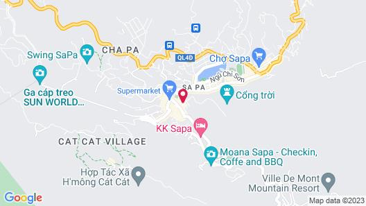 Sapa Horizon Hotel Map