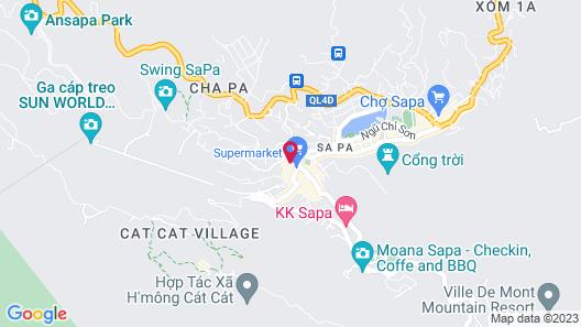 Sapa Green Hotel Map