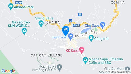 Eden Boutique Hotel & Spa Map