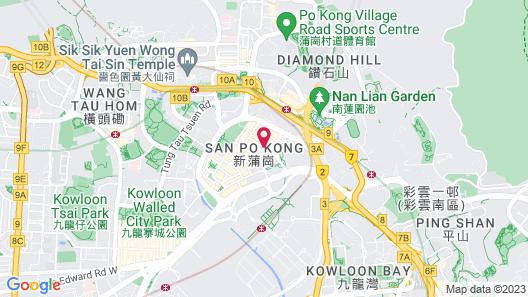 pentahotel Hong Kong, Kowloon Map