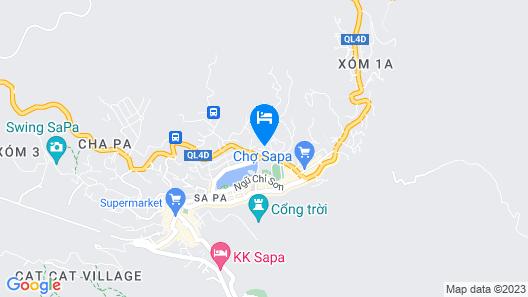 Freesia Hotel Map