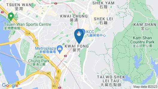 Hotel Ease Access Tsuen Wan  Map