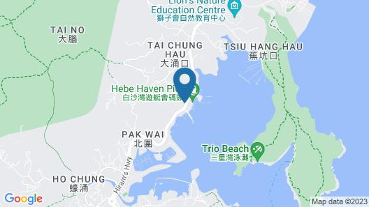 Discover Sailing Asia - Hong Kong Map