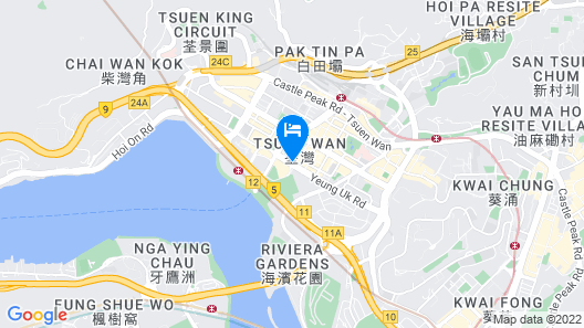 Nina Hotel Tsuen Wan West (Formerly L'hotel Nina et Convention Centre) Map