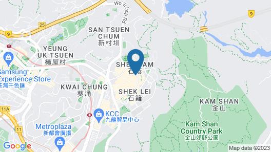 Silka Tsuen Wan Hong Kong Map