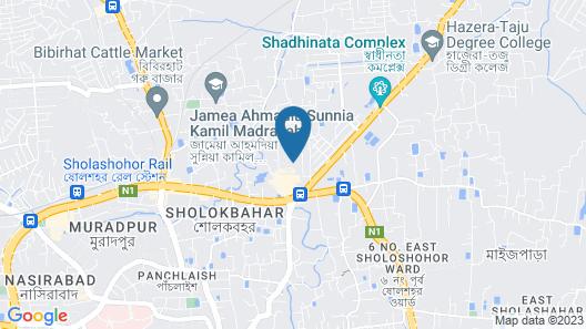 Hotel Diamond Park Map