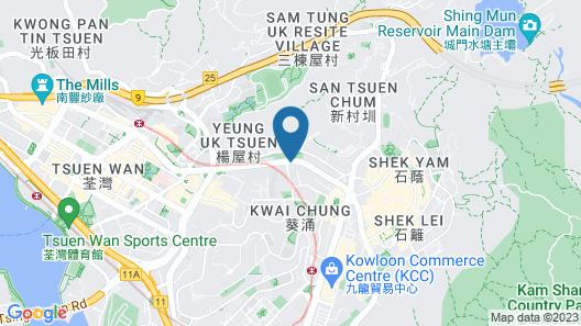 Dorsett Tsuen Wan, Hong Kong Map
