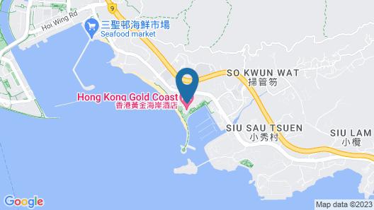 Hong Kong Gold Coast Hotel Map