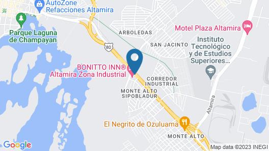 BONITTO INN® Altamira Zona Industrial Map