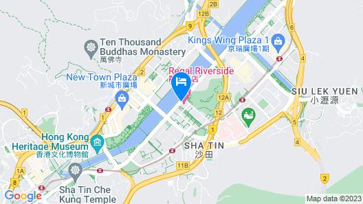 Regal Riverside Hotel Map