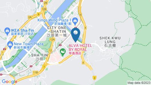 ALVA HOTEL BY ROYAL Map