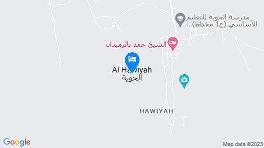 AL Hawiyah Camp Map