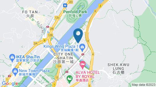 Courtyard by Marriott Hong Kong Sha Tin Map