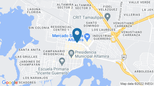 Hotel Avenida d Martin Map