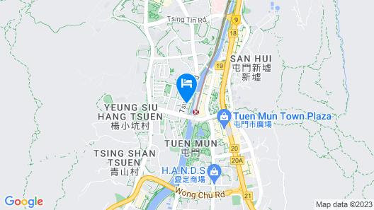 Pentahotel Hong Kong, Tuen Mun Map