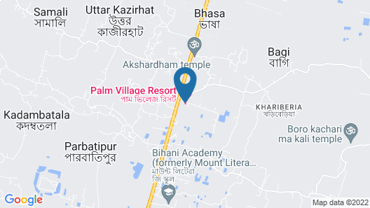 Palm Village Resort Map