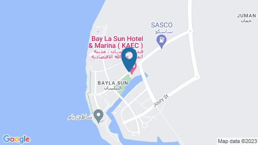 Bay La Sun Hotel & Marina Map