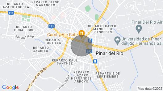 Casa del Tabaco-pinar del Río 2 Map