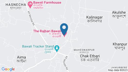 The Rajbari Bawali Map
