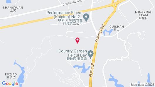 Country Garden Jade Bay Phoenix Hotel Map