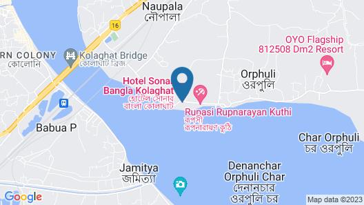 Hotel Sonar Bangla Kolaghat Map