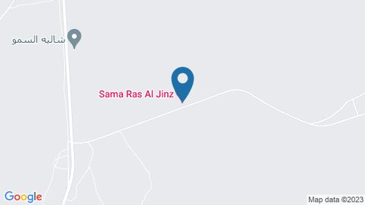 Sama Ras Al Jinz Map