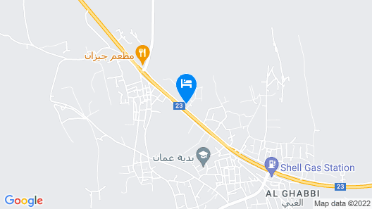 OYO 107 Al Areen Hotel Apartments Map