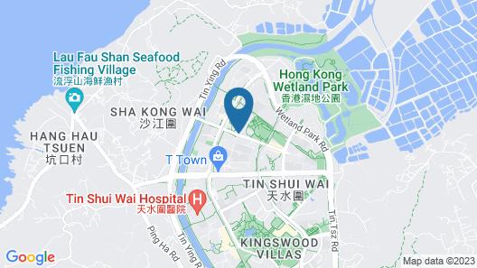 Hotel COZi ·Wetland Map