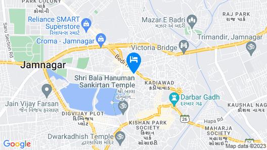 Hotel Shree Sidhhi Vinayak Map