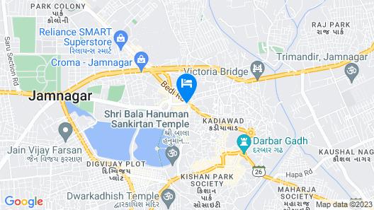 OYO 22551 Hotel Ssv Map