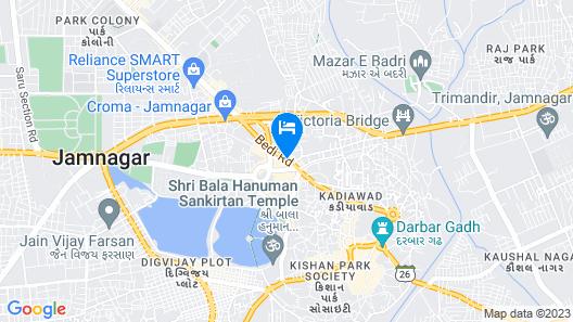Eco Inn Hotel Map