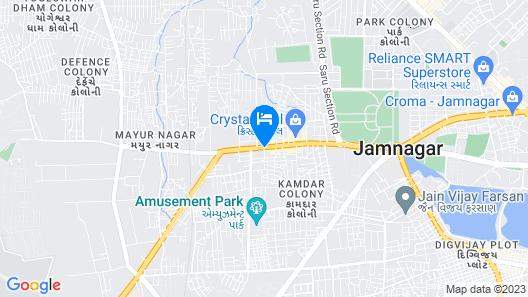 Anaya Beacon Hotel Map