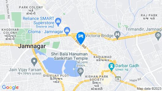 Hotel Vraj Inn Map