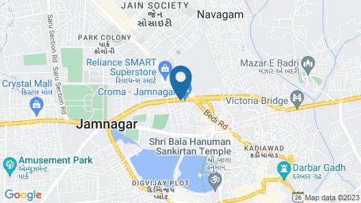 Sayaji Jamnagar Map