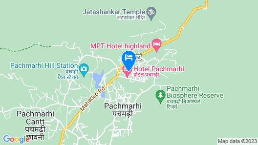 Vinayak Hotel Map