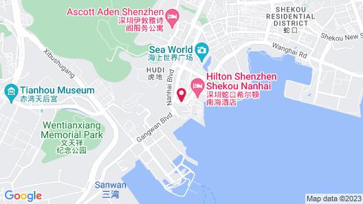 Shekou Haitao Hotel Map