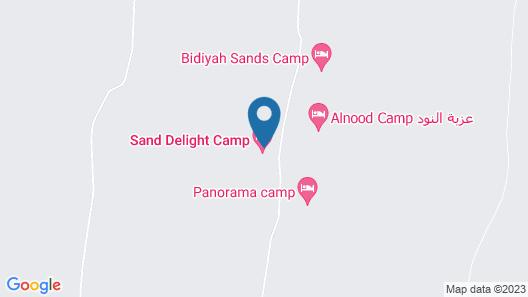 Sand Delight Desert Camp Map