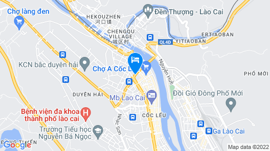 City Hotel Lao Cai Map