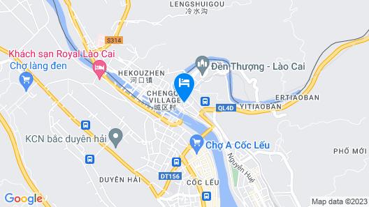 Sapaly Hotel Lao Cai Map