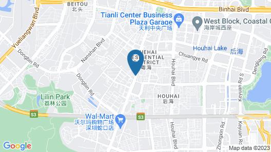 Ascott Raffles City Shenzhen Map