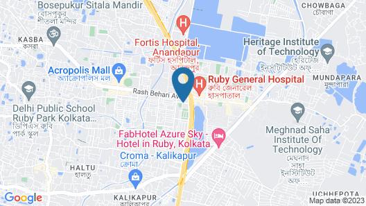 Vivanta Kolkata EM Bypass Map