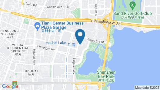 Andaz Shenzhen Bay Map