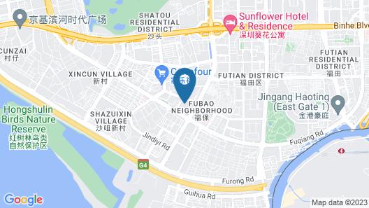 L.gem Hotel Map
