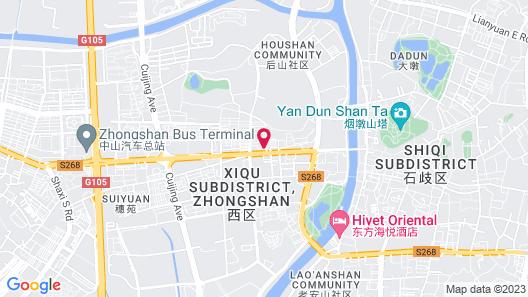 Sheraton Zhongshan Hotel Map