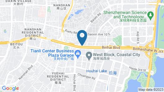 Kempinski Hotel Shenzhen China Map