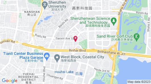 Hotel Kapok Shenzhen Bay Map