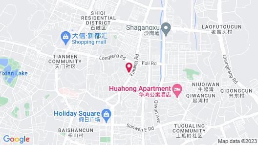 Holiday Inn Zhongshan Downtown Map